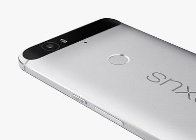 Huawei - Nexus 6P 4G with 32GB Cell Phone (Unlocked) - Silver 9/10
