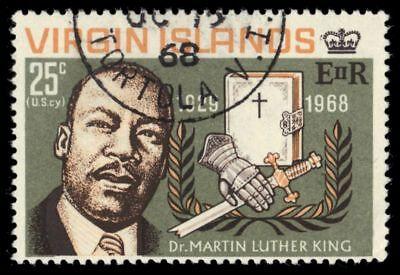 VIRGIN ISLANDS 193 (SG227) - Martin Luther King Jr. Memorial (pf48248)