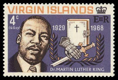 VIRGIN ISLANDS 192 (SG226) - Martin Luther King Jr. Memorial (pa64842)