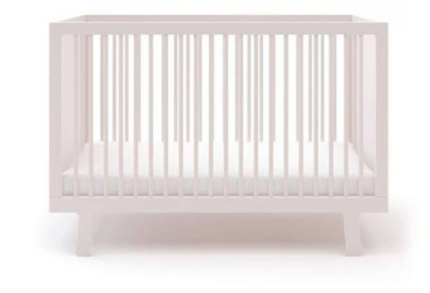 Oeuf Sparrow Cot White