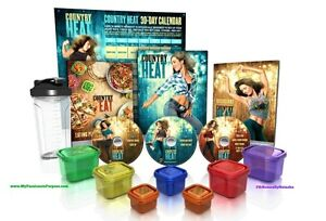 40$ Country Heat Version Deluxe 5 Dvds. Neuf.