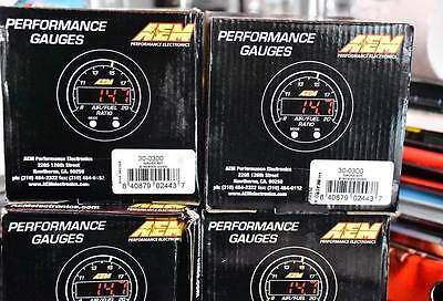 AEM X-Series Wideband Air Fuel Ratio Sensor Controller Gauge 30-0300 AFR SALE!