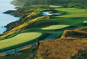 One 18hole round of golf at Fox Harbour