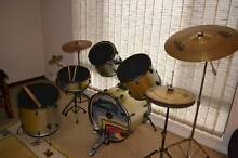 5 pce Drum Kit + Bonus cymbals. South Perth South Perth Area Preview
