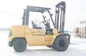2004 Chariot élévateur/Forklift, Mitsubishi FD40KL
