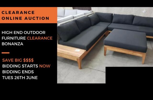 High End Outdoor Furniture Auction Clearance Bonanza Lounging Relaxing Gumtree Australia Penrith Area St Marys 1186984145