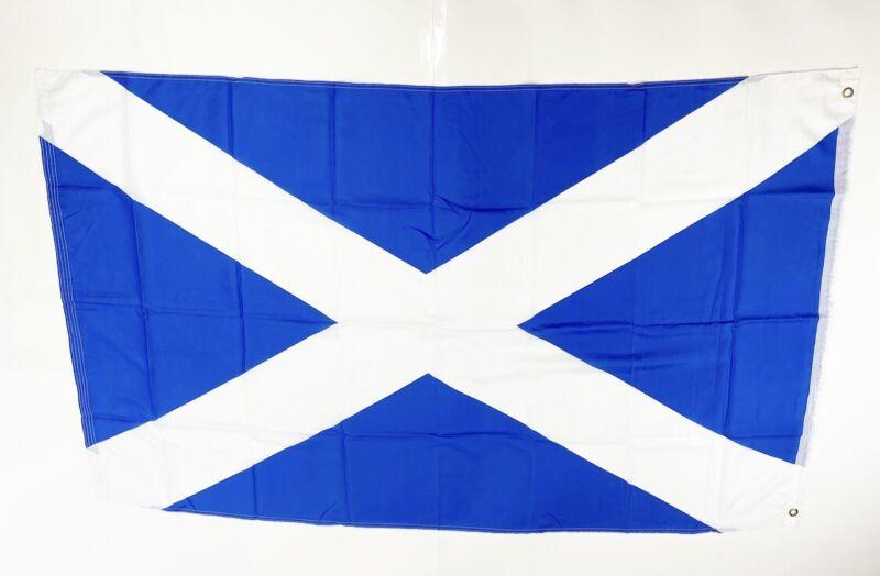 Scotland St Andrews Cross Flag Banner Brass Grommets