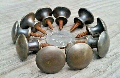 "Hoosier 5//8/"" Round Knobs Handles #K2 3 Solid Brass Stacking Barrister Bookcase"