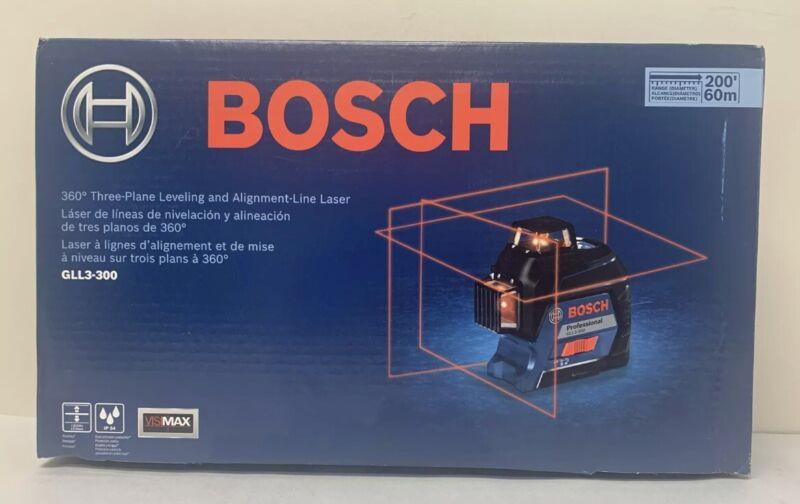 Bosch GLL3-300 360 Degree 3-Plane Level & Align Line Laser BRAND NEW