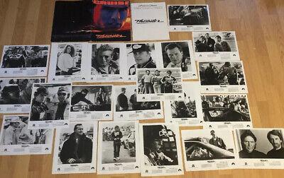 TOM CRUISE DAYS OF THUNDER 1990 Original press Kit 21 Photos