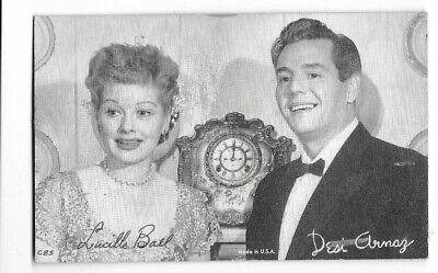 LUCILLE BALL & DESI ARNAZ - 1950s CBS Photo Postcard 3.5