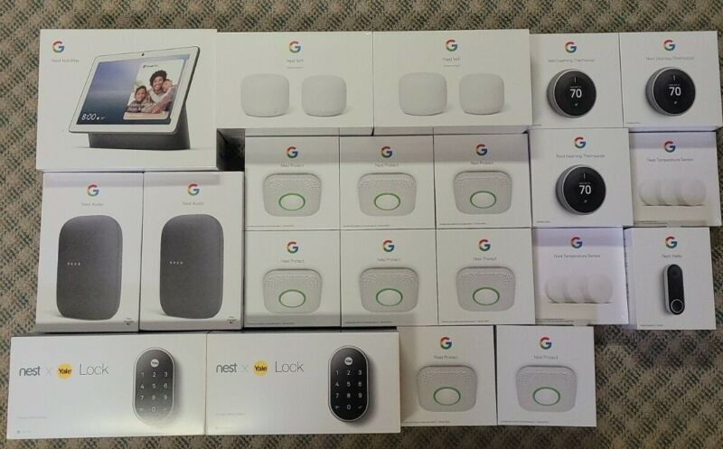 Google Nest Smart Home Kit...(27 peices) BRAND NEW, RETAIL OVER $3000
