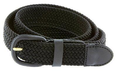 Hagora Men Stretch Comfy Braided Fabric 1-1/4