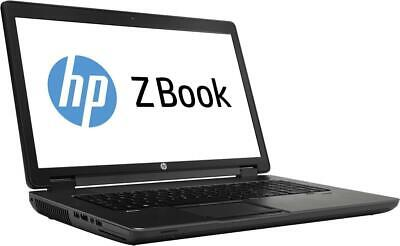 HP Zbook 17 i7-4700MQ 2.40Ghz FHD UWVA ANTI-GLARE 16GB 512GB Laptop Gaming PC