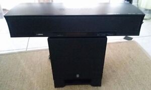 Yamaha digital sound projector and subwoofer Runaway Bay Gold Coast North Preview