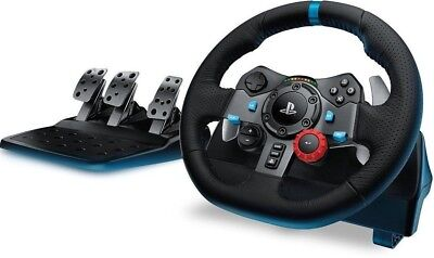 Logitech G29 Driving Force Racing Steering Wheel w/Pedals for PS4/PS3/PC ✔NEW✔ for sale  Shipping to India