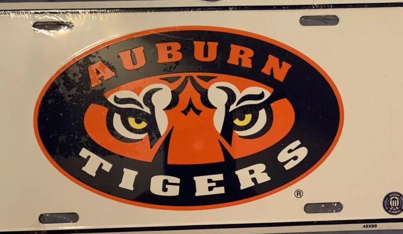 New Auburn Tigers Metal License Plate Car Tag