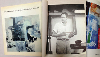 ROBERT RAUSCHENBERG RARE Original Silkscreen Catalog First Edition Out of Print