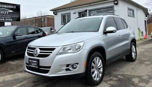 2011 Volkswagen Tiguan Highline AWD PANO ROOF NO ACCIDENT