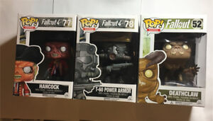 Fallout and Fallout 4 Funko Pop! Figures