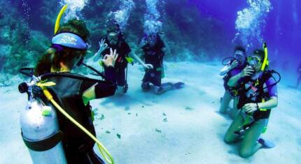Learn  to SCUBA Dive Hervey Bay Queensland