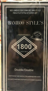 SALE ON BAMBOO STYLES'S 1800 SERIES BED SHEET FOR $19.99