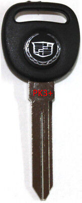 2003-2007 CADILLAC CTS REPLACEMENT IGNITION/DOORS TRANSPONDER LOGO KEY BLANK