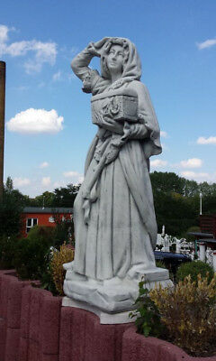 "Gartenfiguren, Statue ""Edelfrau"" 142 cm Skulptur Steinguss, Menschen, Gartendeko"