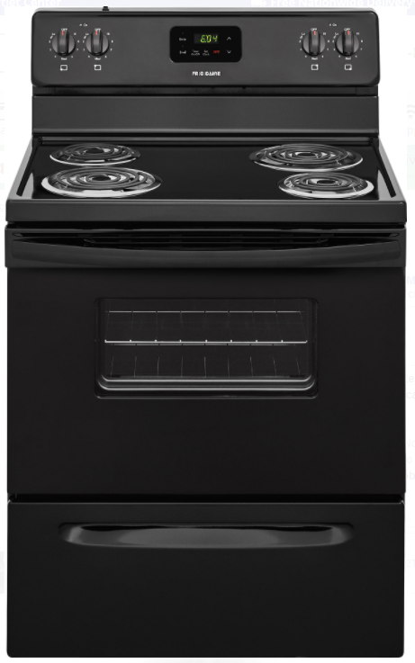 Frigidaire FFEF3012TB 30 Inch Freestanding Electric Range in