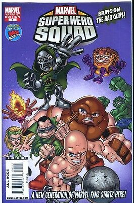 Super Heroes Squad Show (Super Hero Squad Show 1 Variant NM  Low Print Run (2009) 1st series  CBX5)