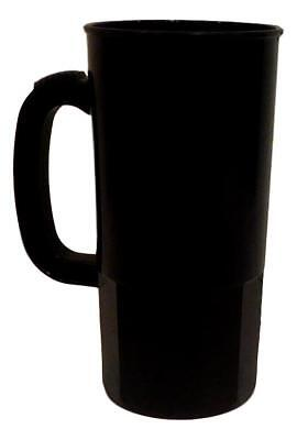 100 Large Black 22 Oz Beer Mugs Steins Made USA Lead Free Wholesale Lot