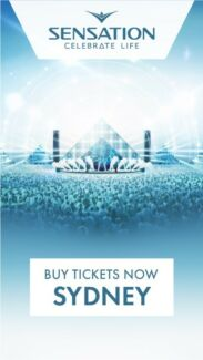 BIG DISCOUNT FOR SENSATION EVENT! Only $199 for 2ticket(original $330)
