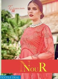 TM NOUR WHOLESALE INDO WESTERN STYLE ETHNIC GOWNS IN TEXTILEDEAL.IN