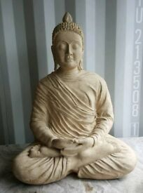 Resin stone-look Buddha