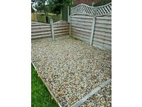 20-40mm Drive gravel recycled washed pebbles shingle decorative hardcore stone garden pea