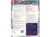 2x Boomtown Weekend Tickets CH:10