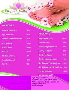 Excellent manicure& pedicure in the NW