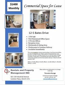 Commerical Office Space with 5 Private Office in Carleton Place