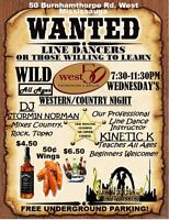 COUNTRY NIGHT: Learn How to Line Dance Wednesdays in Mississauga