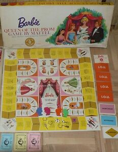 WANTED: Barbie queen of the prom board game 1963 edition