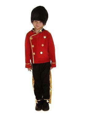 Kinder Jungen Kinder Buzby Royal London Queen Guard Soldat Kostüm (London Kostüm Kinder)