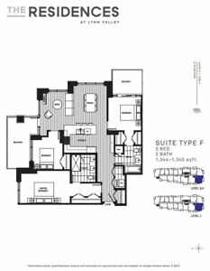 Lynn Valley Centre-Brand New 3 Bed 2 Bath-Pet Friendly Unit!