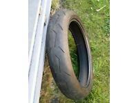 Pirelli Diablo Rosso II 120/70 ZR17 TL (58W) Front wheel Tubeless tyre for motorbike