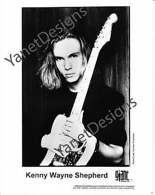 Kenny Wayne Shepherd Photo Guitarist Singer Songwriter Press Promo 8x10 1995