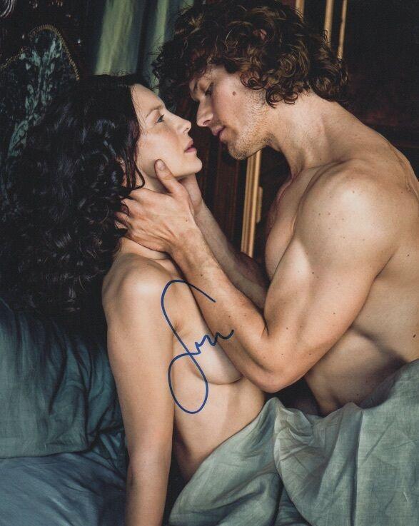 Sam Heughan Outlander Autographed Signed 8x10 Photo COA #18