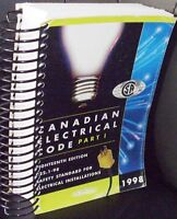 CANADIAN ELECTRIC CODE PART 1 C22.1-98