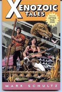 Xenozoic-Tales-Vol-1-After-The-End-Dark-Horse-TPB-Trade-Paperback
