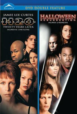 HALLOWEEN H2O/HALLOWEEN: RESURRECTION DOUBLE FEATURE NEW DVD - Halloween Features