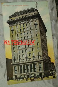 CANADIAN TORONTO POSTCARD, TRADER'S BANK BUILDING, DATED, 1911