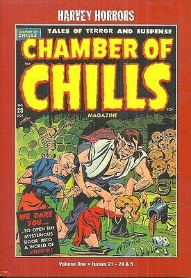 CHAMBER OF CHILLS VOL I - HARVEY HORRORS - PRECODE HORROR COMICS 1951-52 COLOR